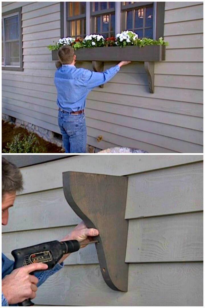 Tutorial fácil de cómo construir una jardinera con caja de ventana