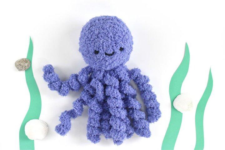 Cómo tejer un pulpo a crochet