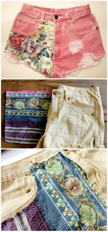 pantalones cortos de verano personalizados de bricolaje