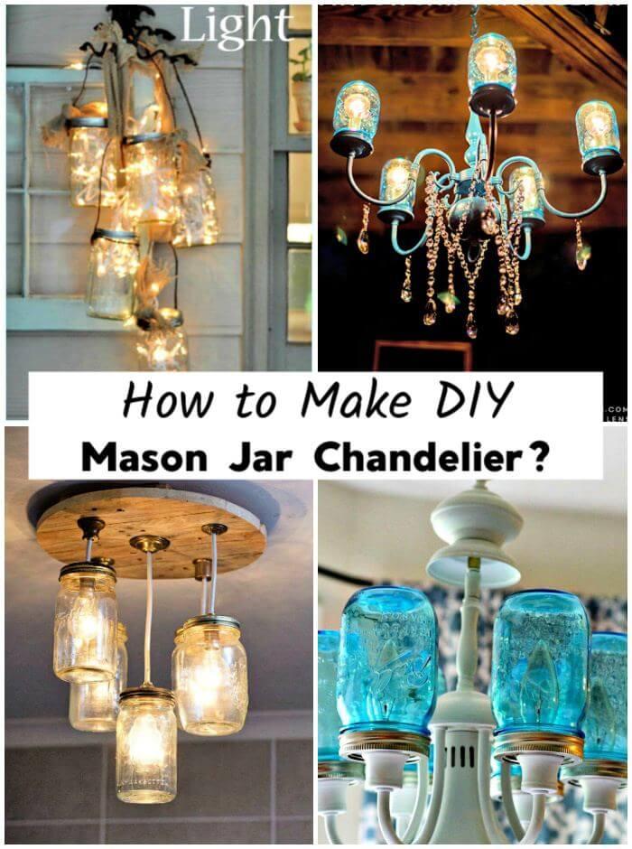 Cómo hacer un candelabro de bricolaje con tarro de cristal