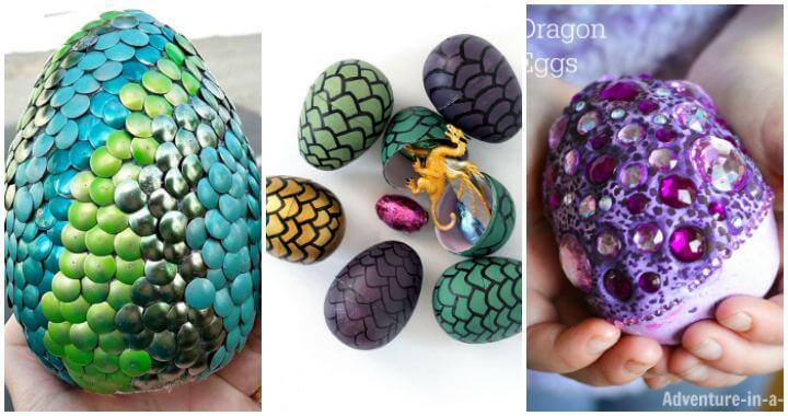 Cómo hacer huevos de dragón, 11 ideas de huevos de dragón, manualidades para niños, proyectos de bricolaje, ideas de manualidades fáciles
