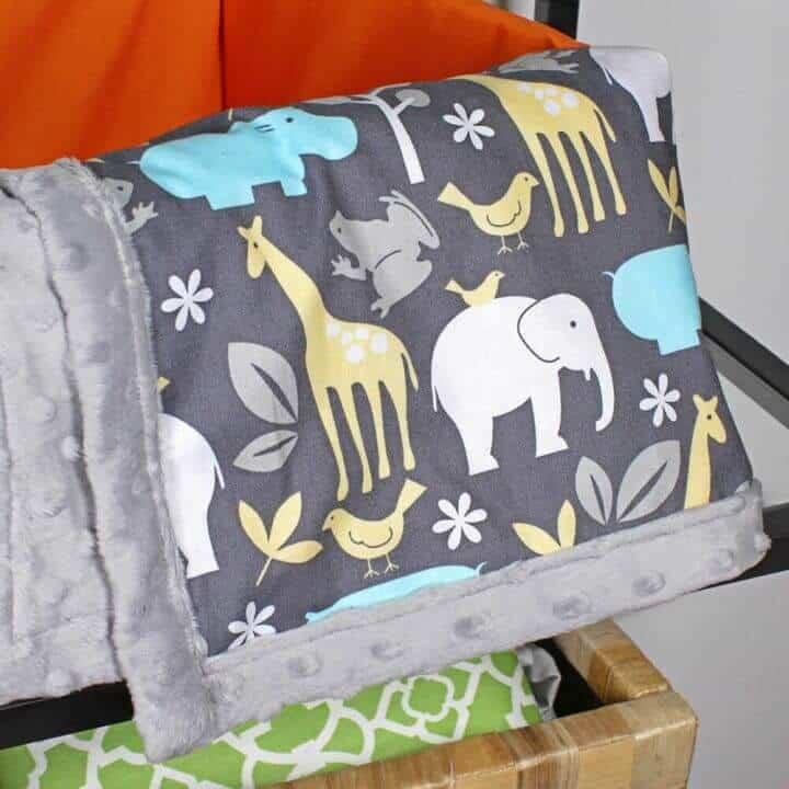 Cómo coser una manta de bebé