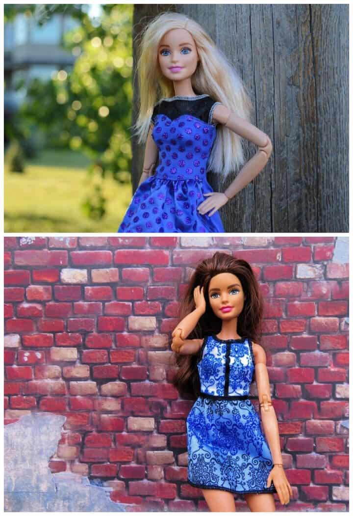 Cómo coser ropa de Barbie