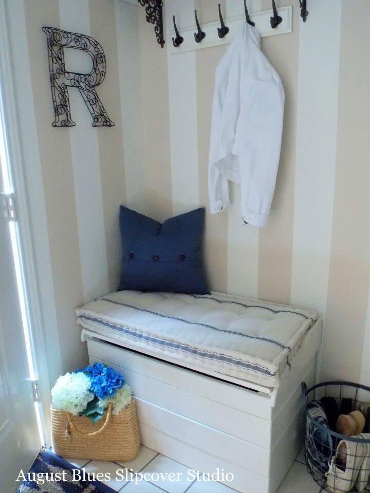 Cómo coser un cojín de colchón francés