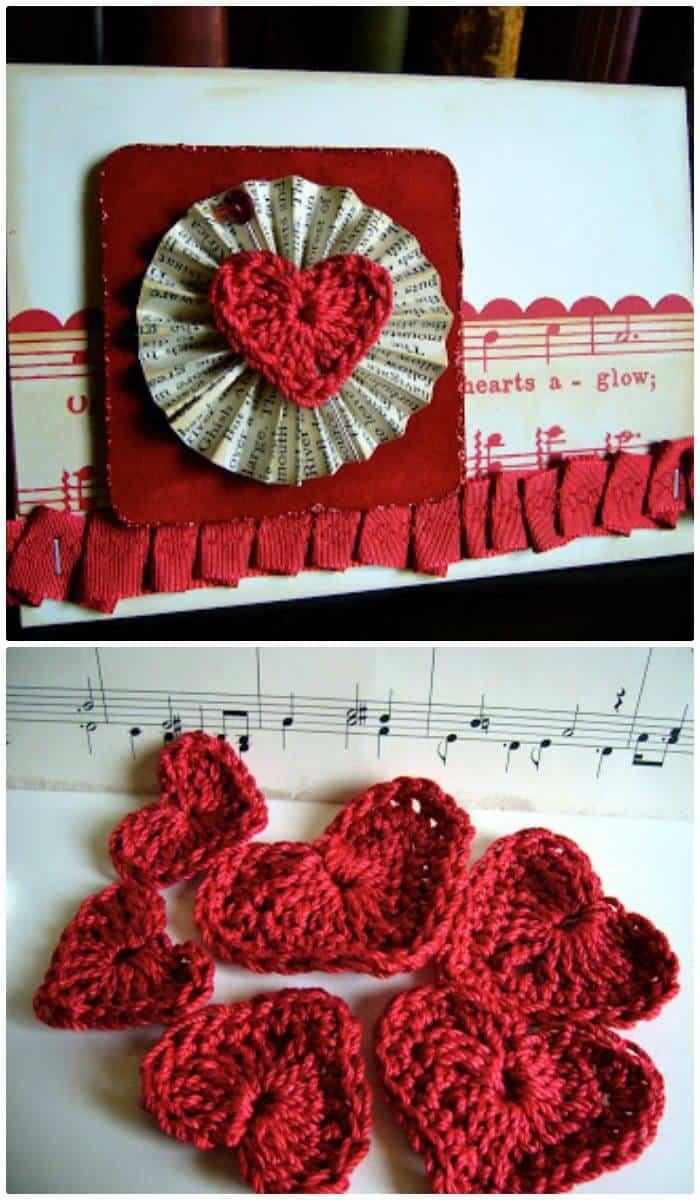 How to Crochet Heart - Free Pattern