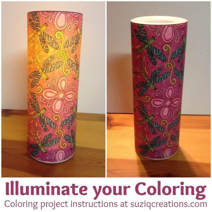 Ilumina tu proyecto de manualidades para colorear