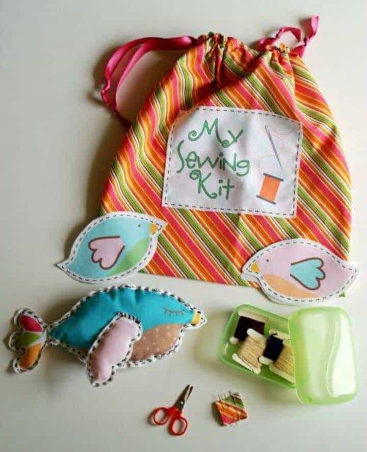 Kit de costura para niños de la tierra de Nod