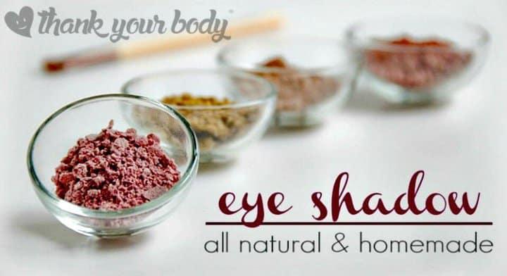 All Natural Homemade Eyeshadow Recipe - DIY