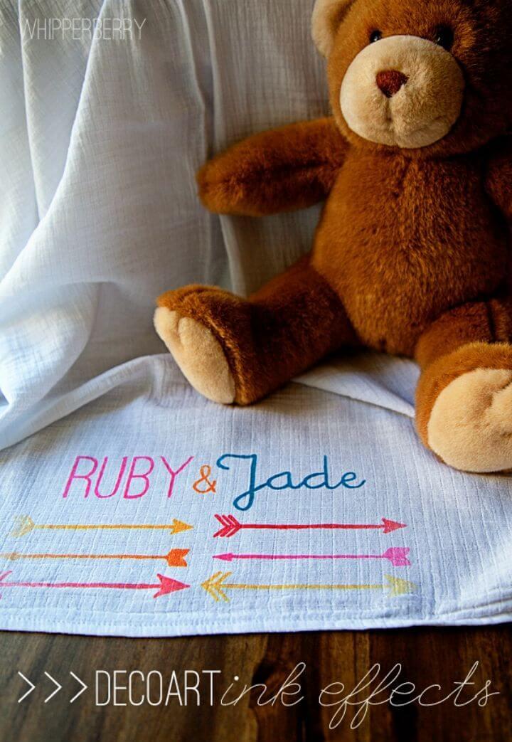 Hacer una manta para bebé