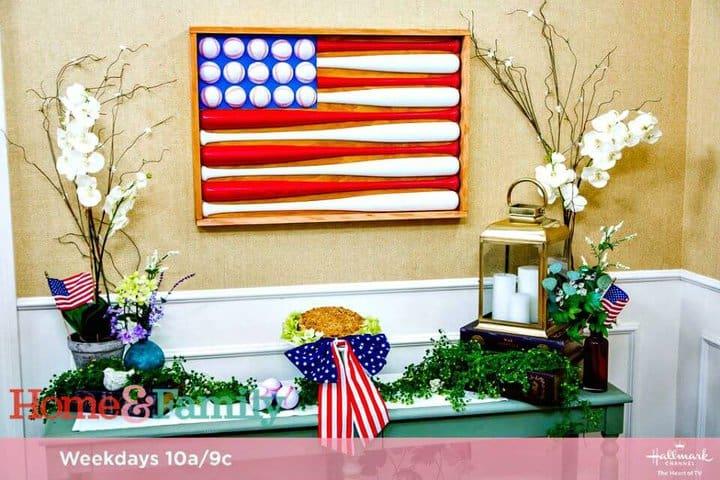 Cómo hacer ilustraciones de banderas de béisbol - Proyectos de decoración del hogar