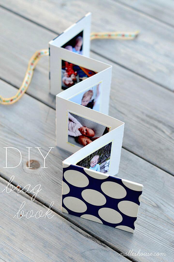 Libro de bricolaje para regalo de fotos