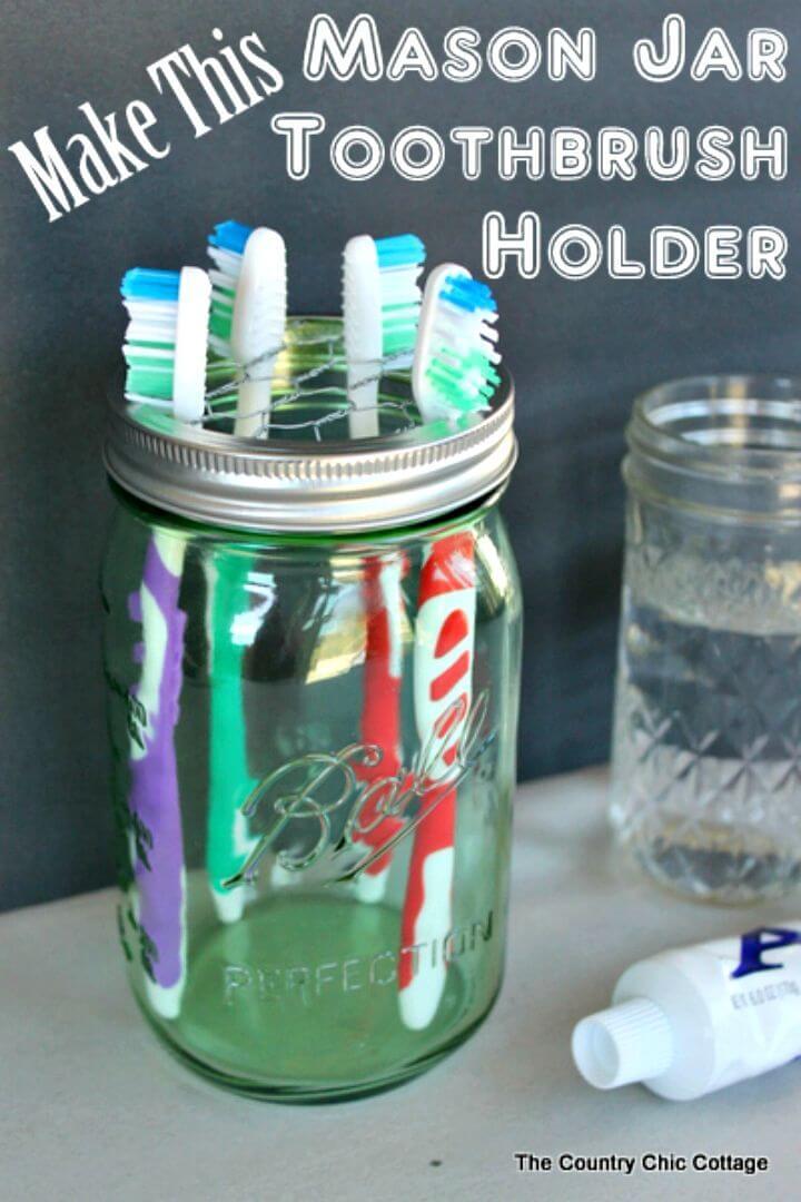 Hacer un soporte para cepillo de dientes