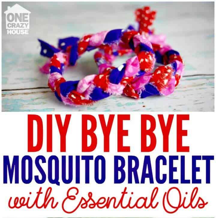 Pulseras de bricolaje para mosquitos con aceites esenciales