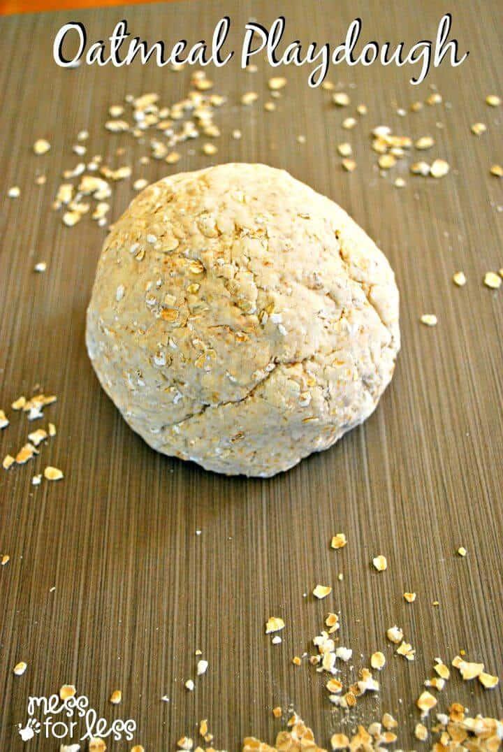 Receta de masa de harina de avena: bricolaje rápido