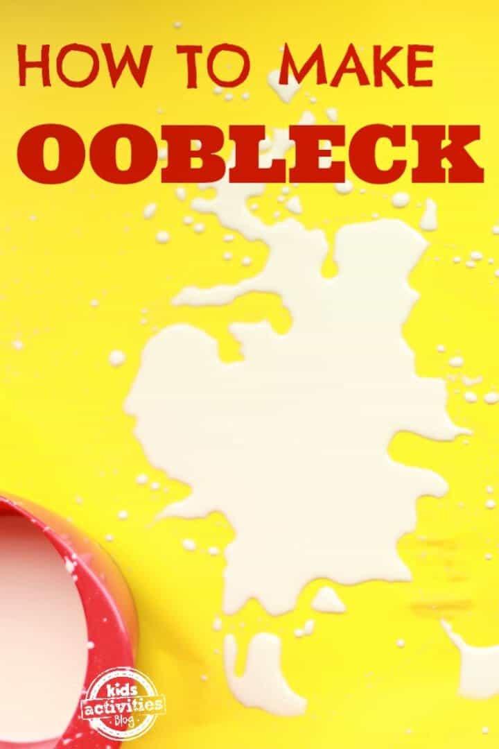 Haga de Oobleck un fluido no newtoniano