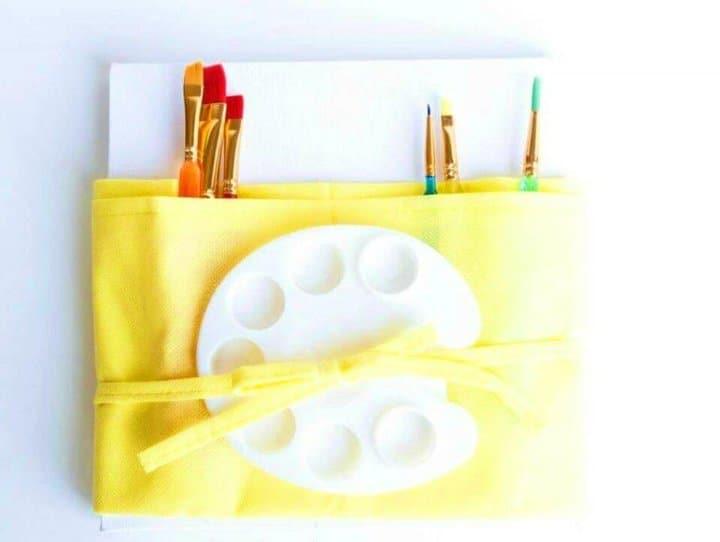 Hacer kit de pintura para niños