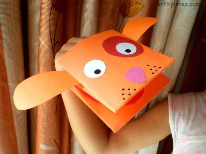 Hacer marionetas de papel