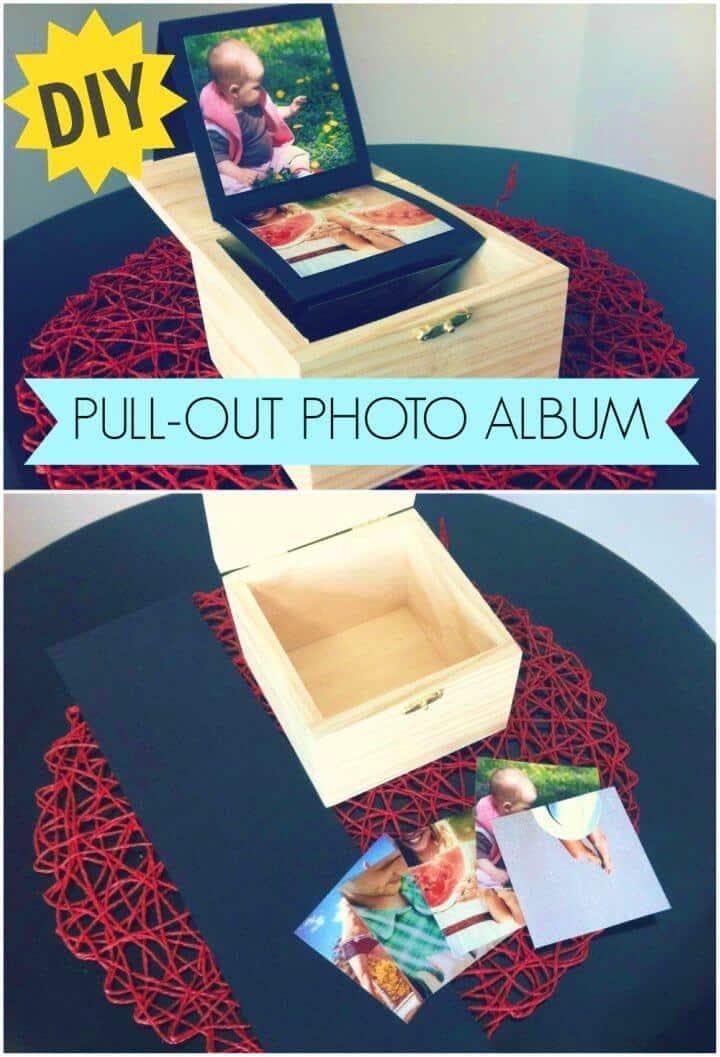 Hacer un álbum de fotos extraíble