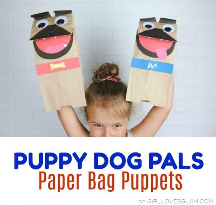 Marionetas DIY Puppy Dog Pals para que jueguen los niños