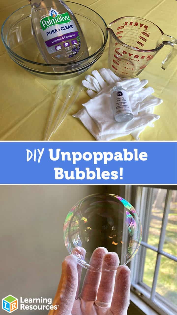 Hacer burbujas impermeables