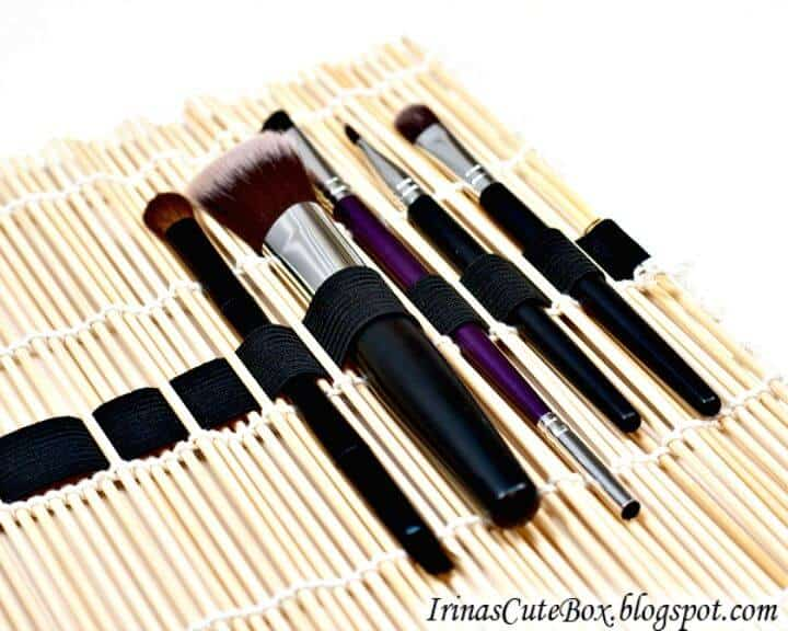 Haga su propio organizador de pinceles de maquillaje - DIY
