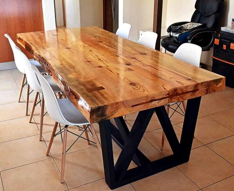Haz tu propia mesa de comedor
