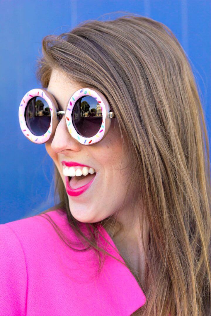 Haga sus propias gafas de sol Donuts - DIY
