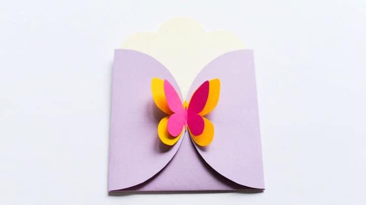 Haga su propio sobre para tarjetas de felicitación