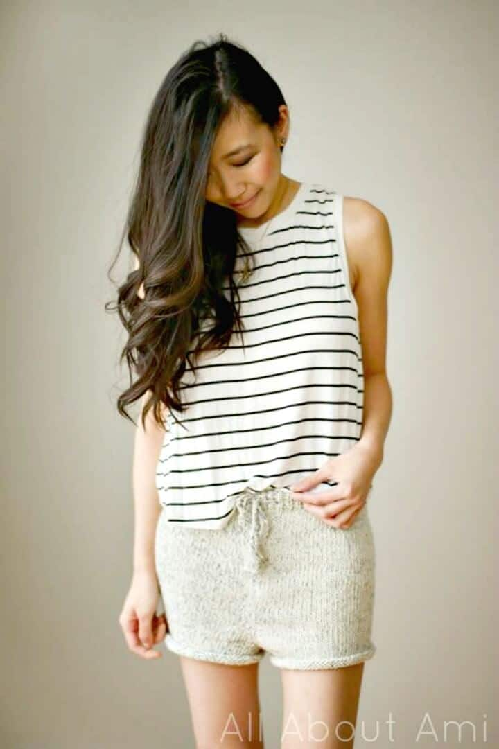 Haz tus propios shorts rompecorazones - DIY
