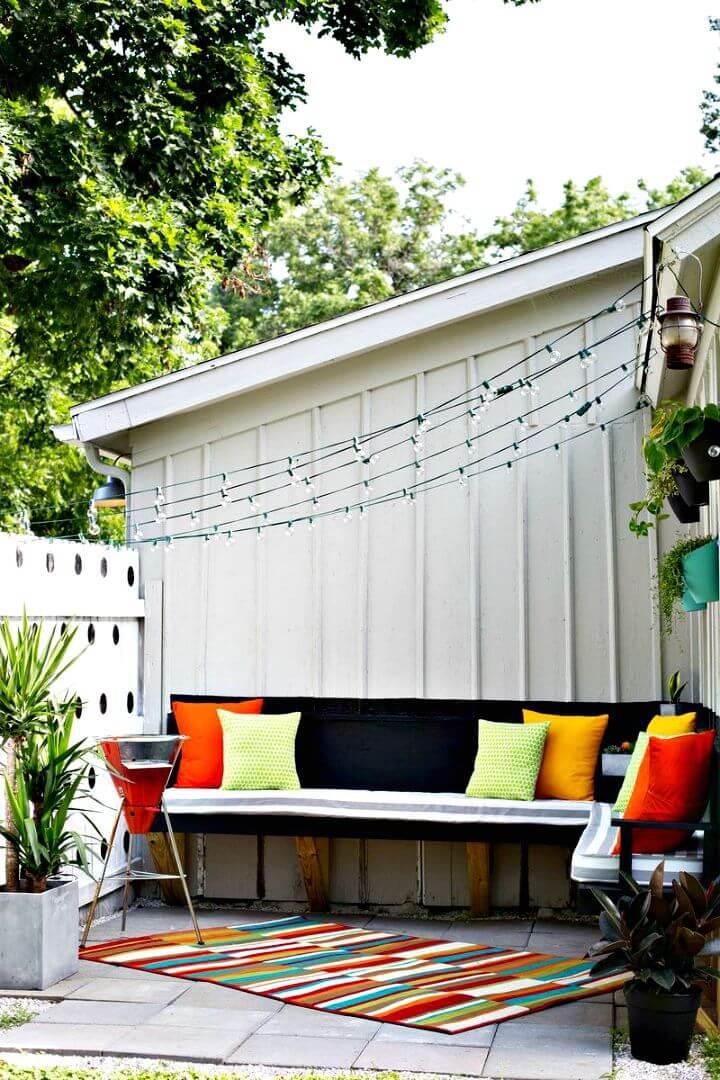 Cómo hacer tus propios cojines para exteriores: bricolaje