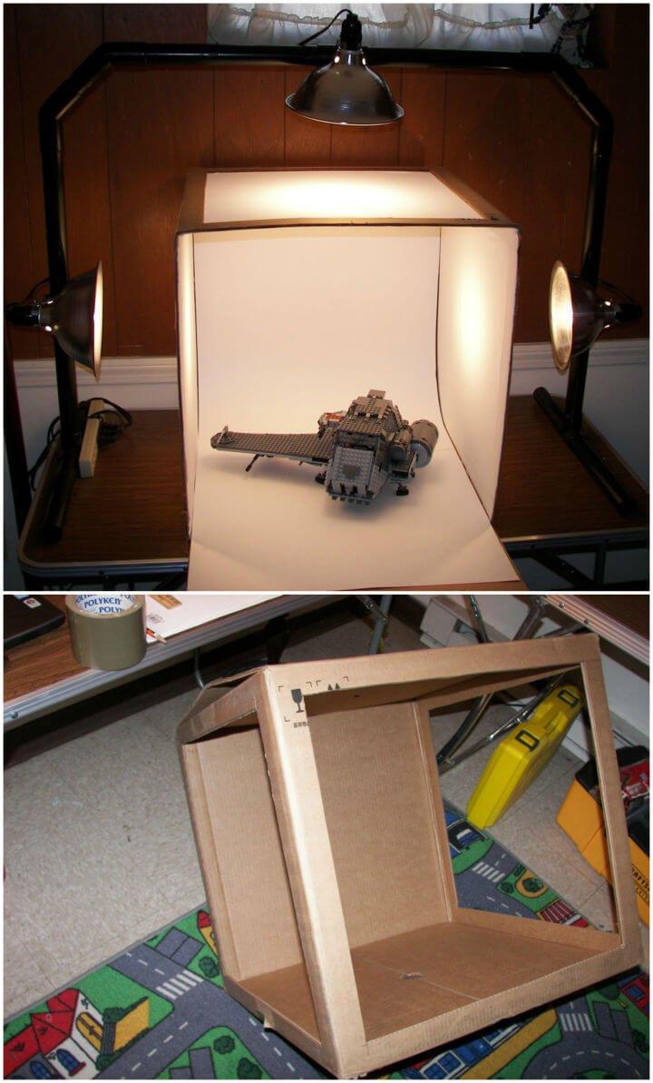 Haz tu propia caja de luz para fotografía