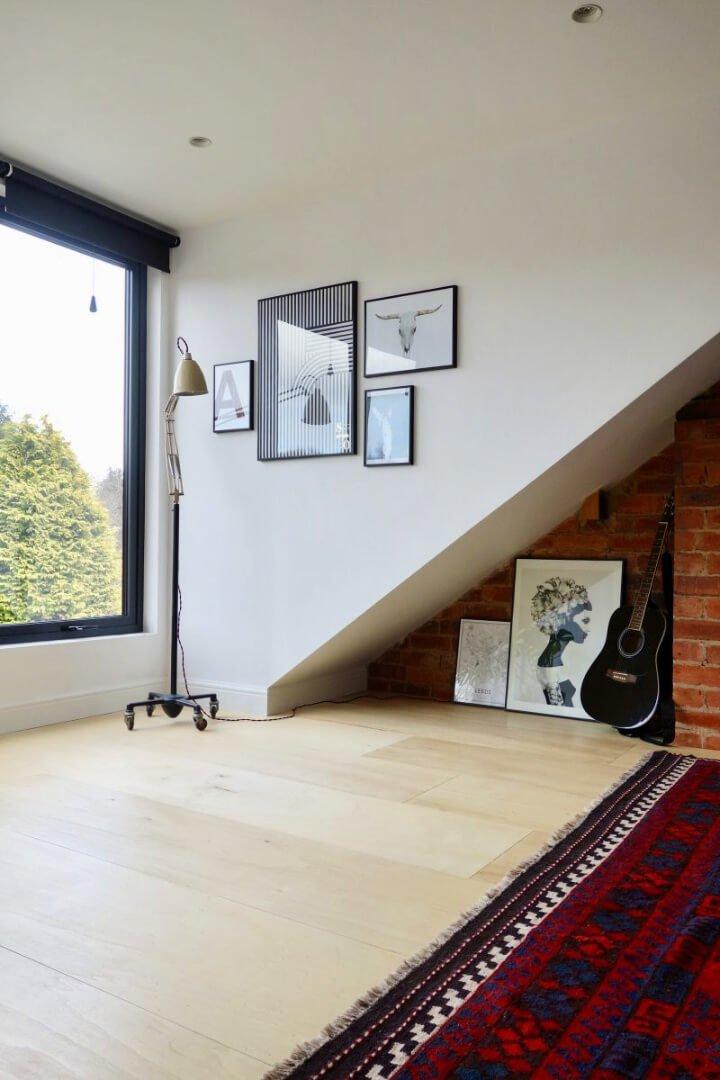 Haga su propio piso de madera contrachapada