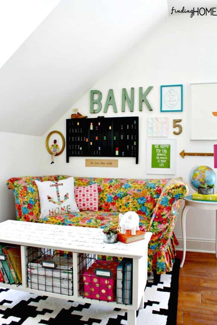Haga su propia mesa de centro Sharpie Art - DIY