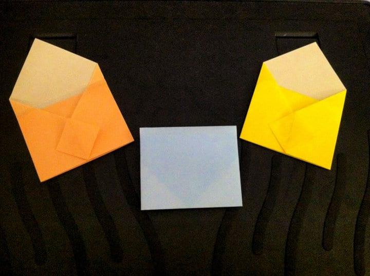 Mini Sobres Origami