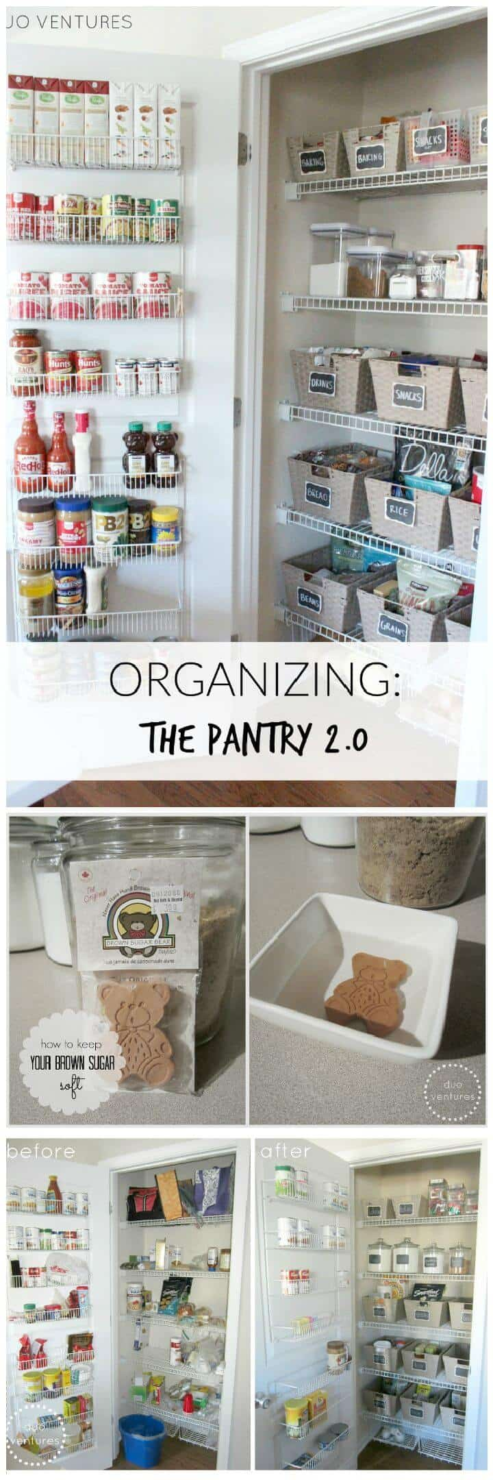 Organizar la despensa