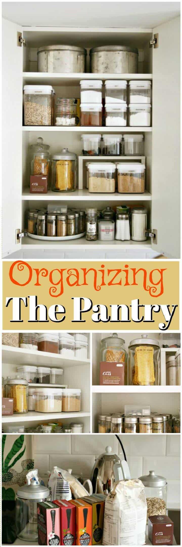Organizando la despensa