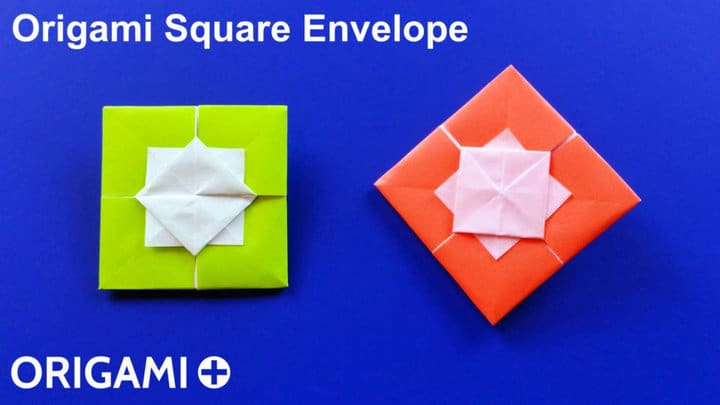 Sobres Cuadrados Origami