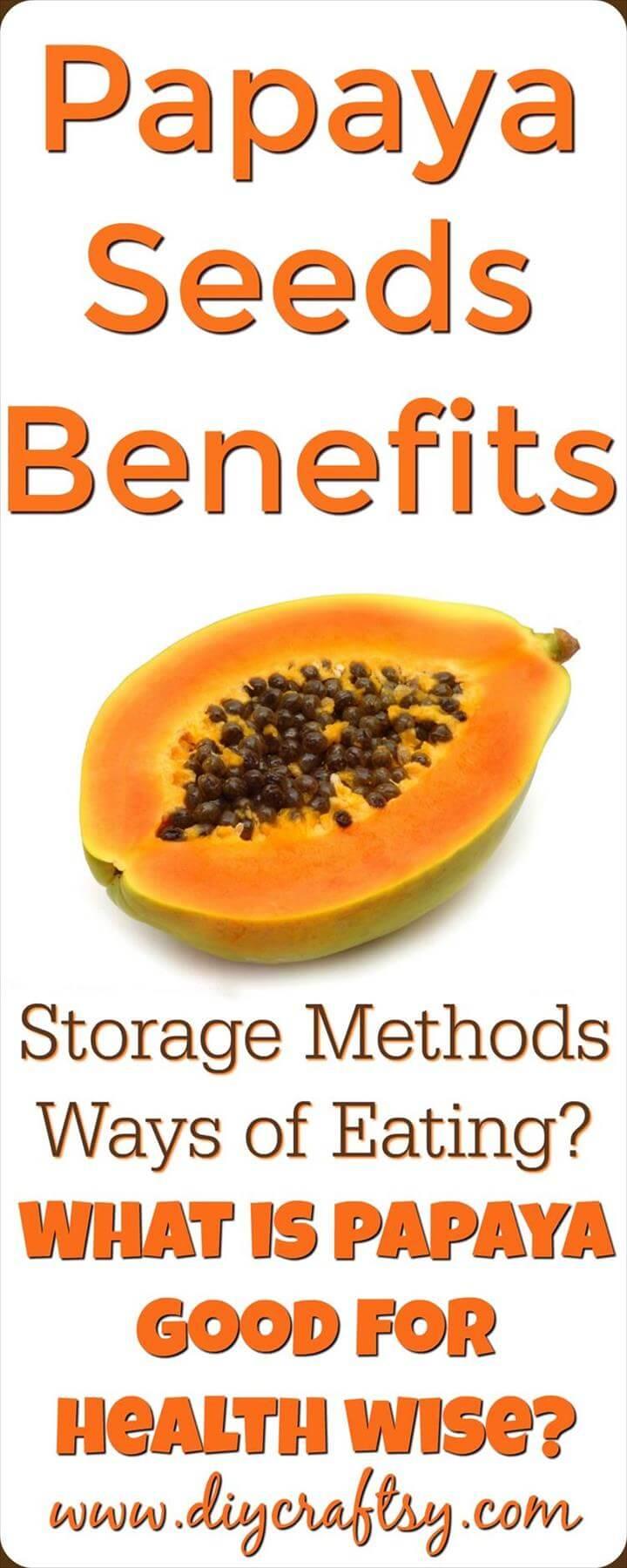 Beneficios de las semillas de papaya