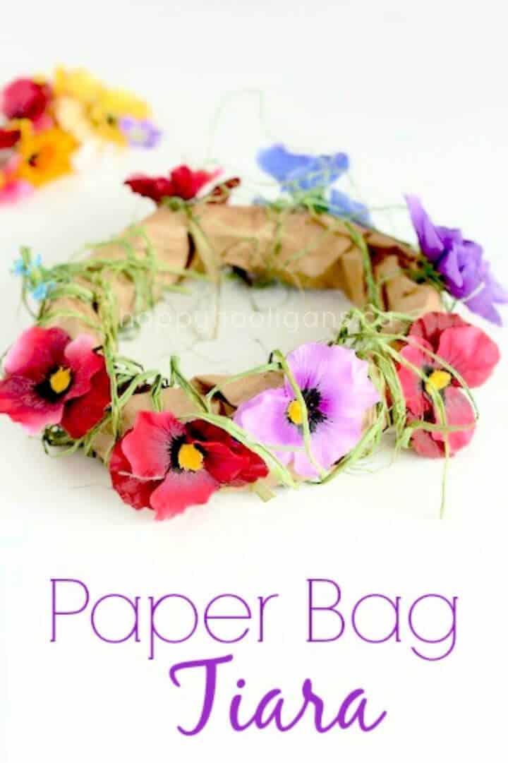 Bolsa de papel Tiara Craft para campamento