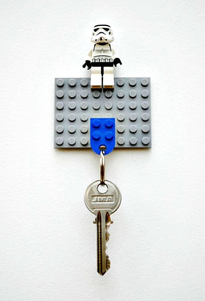 Cómo hacer un llavero de Lego