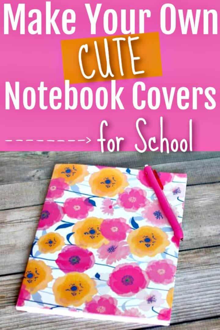 Cómo hacer una bonita funda para cuadernos para regalos
