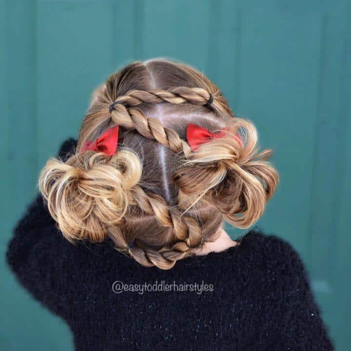 Peinado de torsión de cuerda