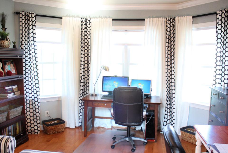 Barras de cortina de PVC de bricolaje de aspecto rústico