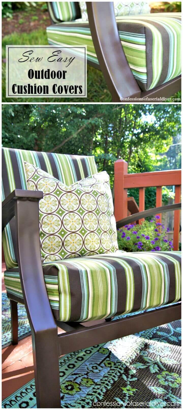 Cojín para exteriores Easy Sew - Bricolaje