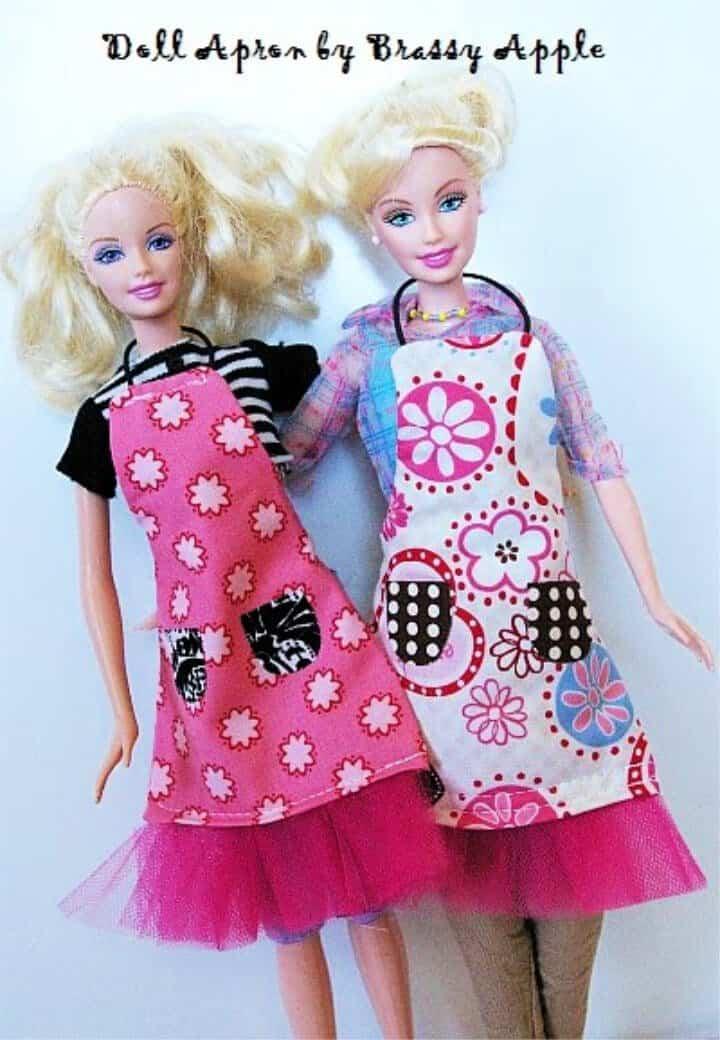 Delantal Sew Itty Bitty para Barbie