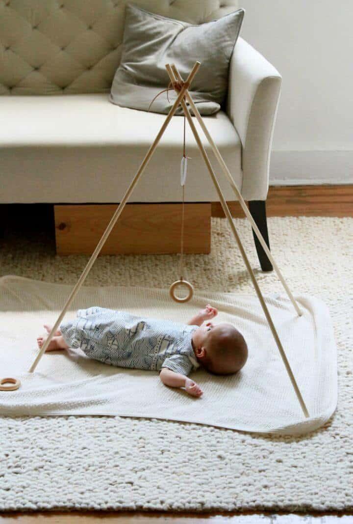 Cómo hacer un gimnasio para bebés