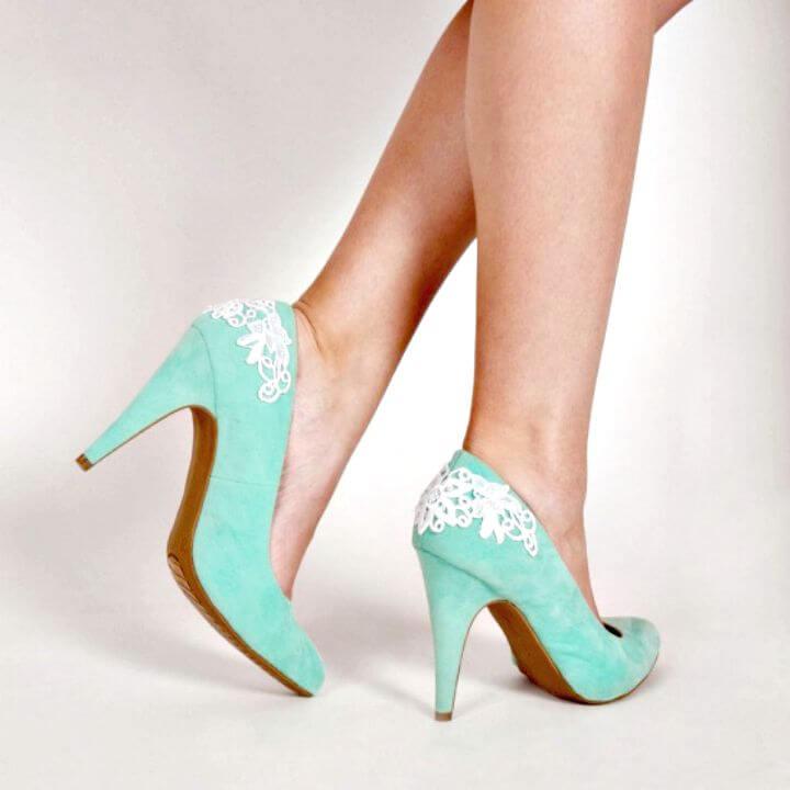 Sandalias con cordones de bricolaje simples