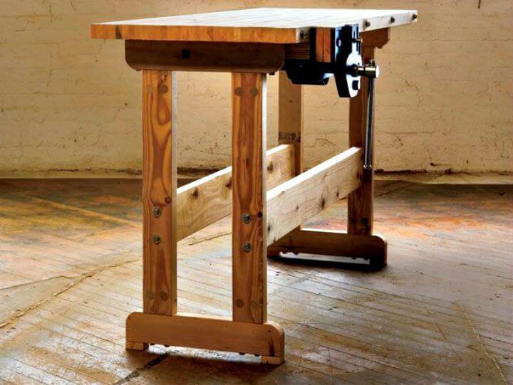 Proyecto de banco de carpintería de bricolaje simple y fácil