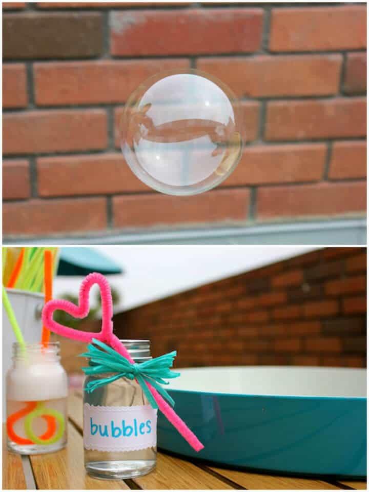 Burbujas y varitas caseras Super Duper