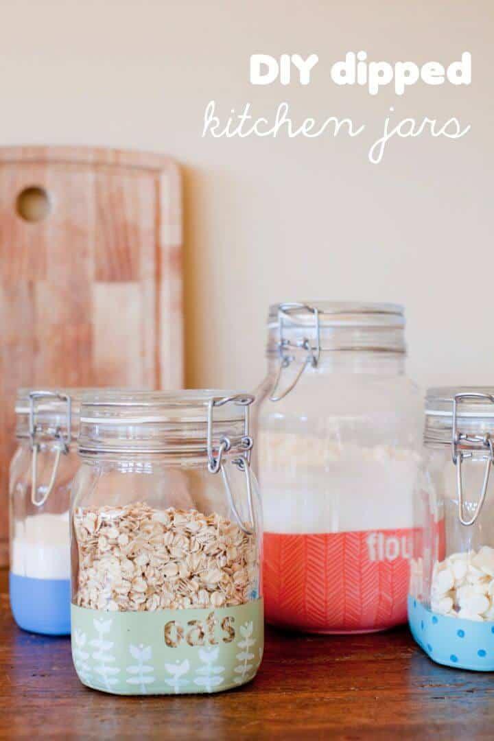 Cómo hacer frascos de cocina sumergidos - Bricolaje
